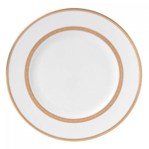 Wedgwood Vera Wang Vera Lace Gold 10-3/4-Inch Dinner ()