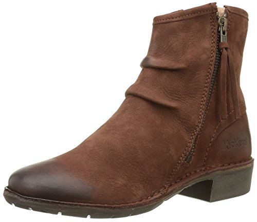 Boots Soft Beige Kickers 116 Ankle Groove Women's Beige PwxfH1qIf