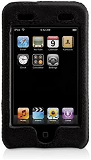 Griffin Elan Form Hard-Shell Leather Case for iPod touch 1G (Black)