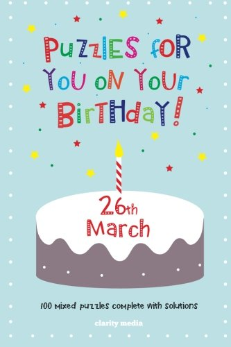 Download Puzzles for you on your Birthday - 26th March pdf