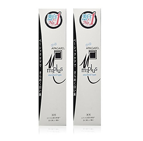 Apagard M-Plus toothpaste 125g | the first nanohydroxyapatite remineralizing toothpasteneralizing toothpaste ( set of 2 )