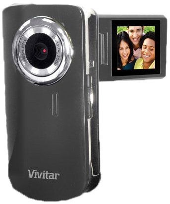 Vivitar Flip Out Screen DVR Camcorder Camera Kit: Shoot HD Photos and Videos