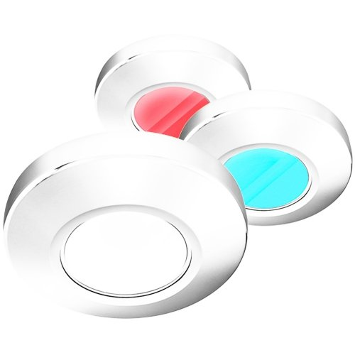 I2SYSTEMS-INC-i2Systems-Profile-P1120-Tri-Light-Surface-Light-Red-White-Blue-Light-White-Finish-P1120Z-31HAE