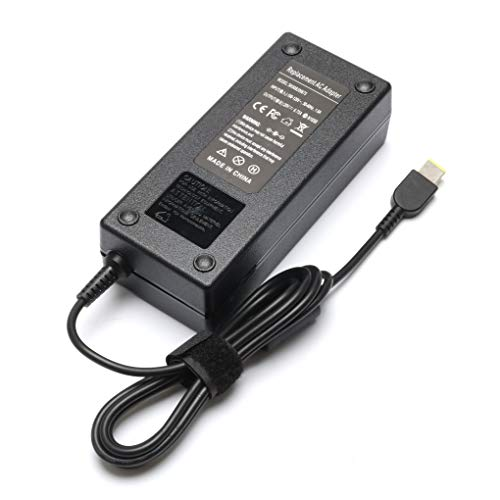 135W AC Power Adapter Laptop Charger for Lenovo Y40-70 Y50-70 Y50-80 Y50-70AS-ISE Y700-15ISK 720-15IKB Z710 ThinkPad T440P T470p T540p ADL135NDC3A Supply Cord ()