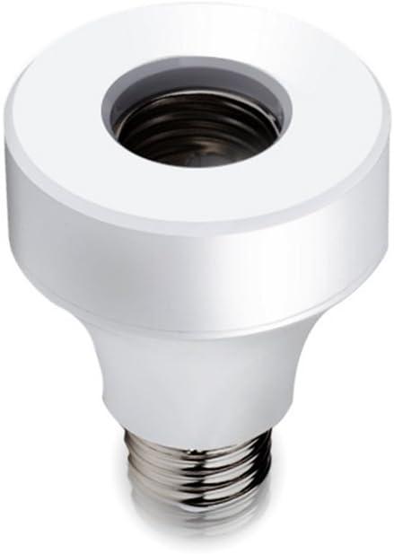 Lilideni Conceptos de LED WiFi Tenedor de la lámpara de Control Remoto Inalámbrico Inteligente Bombilla Socket Cap Interruptor para Lámparas Base de Bombillas y Accesorios E27