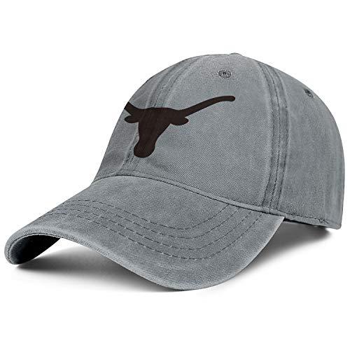 Texas Longhorns Cycling Jersey - Texas Longhorns Clipart Silhouette Logo Symbol Cap Cowboy Hat Unisex Adjustment Basketball Denim Hats