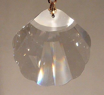 (Swarovski 28mm Clear Crystal Seashell Prism)