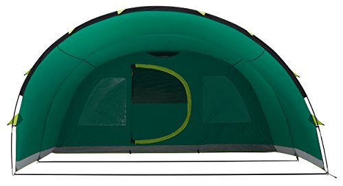 Coleman Inflatable Tent 6 man Valdes 6XL, Camping tunnel tent with air...