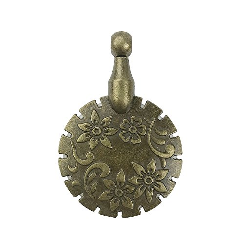 (D&D Thread Floss Cutter Pendant, Antique Bronze)