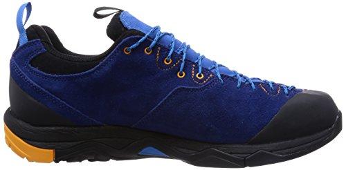 Haglöfs Rocker Leather GT Men, Scarpe da Trekking da Uomo Multicolore (Hurricane Blue/Saffron 33q)