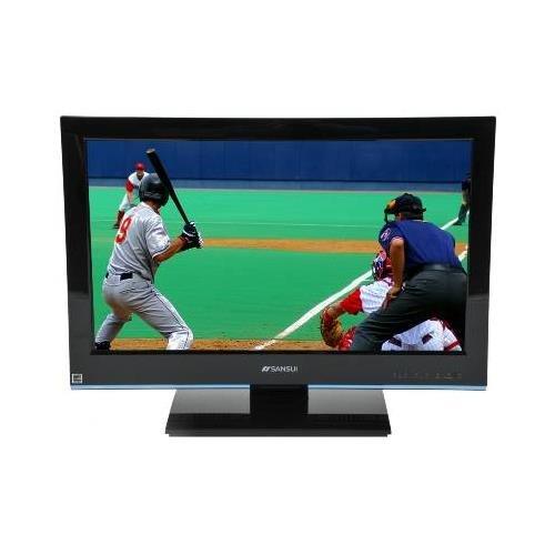 Sansui SLED2480 24 Widescreen LED LCD TV - 16:9 1920 x 1080 5ms ATSC / QAM / NTSC HDMI VGA Black