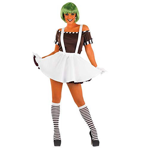fun shack, Women's Oompa Loompa Dress,