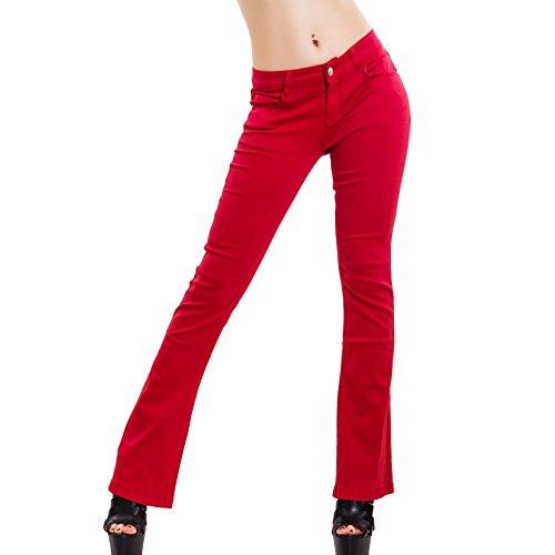 Skinny Toocool Rouge Toocool Jeans Skinny Femme Jeans Femme Rouge Toocool Jeans F8qUPYYx