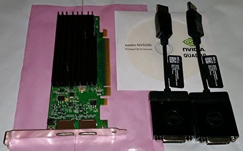 Smart Buy Nvidia Quadro Nvs 295 Pcie 256MB 2PORT Dvi-d Graphics Express 256mb Gddr3 Video Card