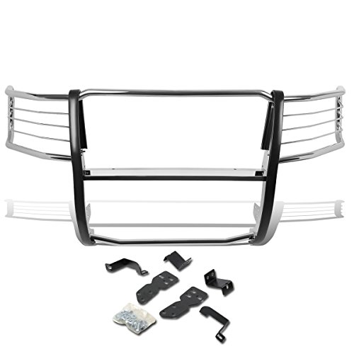 DNA MOTORING GRILL-G-014-SS Front Bumper Brush Grille Guard (Std Bumper Rear)