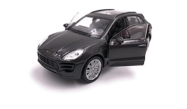 Welly Porsche Macan SUV Modelo Car Auto License Producto 1: 34-1: 39 Negro: Amazon.es: Coche y moto