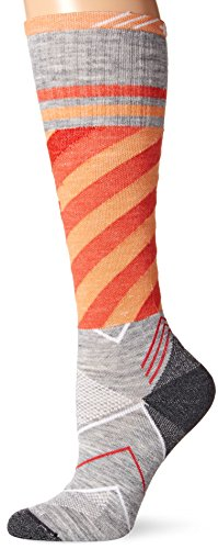 Sockwell Women's Cyclone Graduated Compression Socks, Grey- Ideal for Running, Biking, Sports and Fitness, Reduce Muscle Fatigue, Swelling, Shin Splints and Improve Recovery