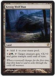 Kessig Wolf Run Near Mint Normal English Magic Card Innistrad MTG TCG
