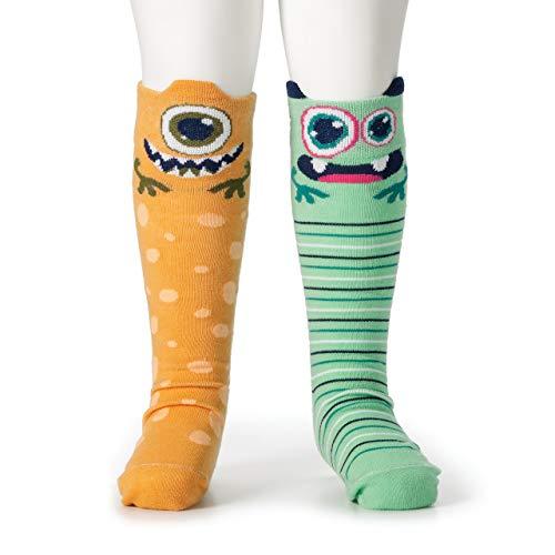 DEMDACO Knee Story Time Socks, Aliens