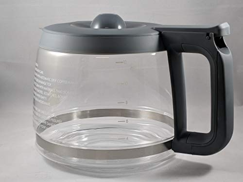 Compatible with Kenmore 100.76772410 Coffee Maker Carafe