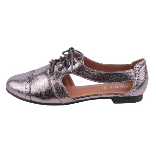 REFRESH Oxfords MARTY 6 Womens Color Size Comfort PEWTER 01 casual rdBWXqzrw