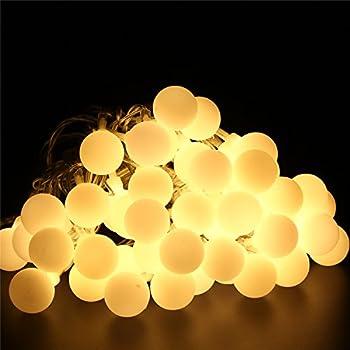 ball fairy lights. bluefire 50 led 31ft/9.5m globe string lights starry light ball fairy with