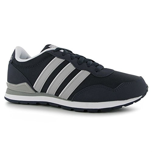 adidas Mens Jogger Rip Clip Trainers Lace Up Casual Sports Shoes Footwear  Nvy LtOnix