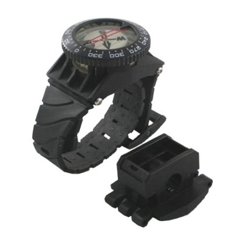 Scuba Choice Scuba Diving Deluxe Wrist Compass with Hose Mount SCCP-03