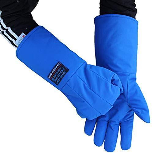 AINIYF Low Temperature Resistant Liquid Nitrogen Gloves Antifreeze Gloves Cold Storage Dry Ice Cold Warm Gloves (Size : 45cm) by AINIYF (Image #3)