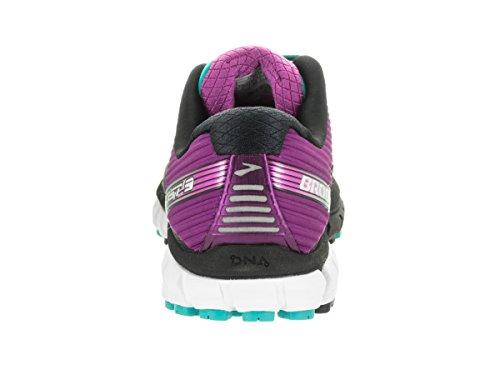 Brooks Mujer Ghost 9 Neutral Running Zapatos Zapatillas Entrenar Transpirable Negro/Morado