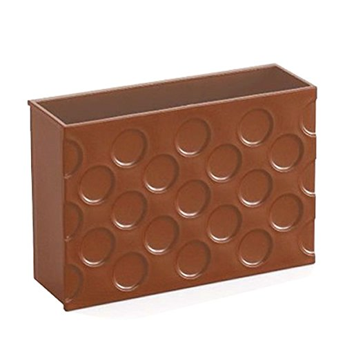 Kitchen Plastic Refrigerator Strong Magnet Organizer Basket Box Container Magnets Holder for Whiteboard Recipe Note Stationery Utensil Storage Rack Multipurpose Tableware for Office Kitchen Kids Room [White] 3ZYZ