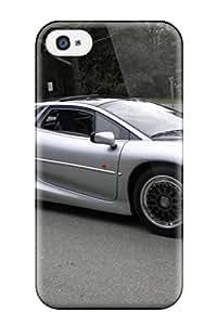 New Style ZippyDoritEduard Hard Case Cover For Iphone 4/4s- Jaguar Xj220 5