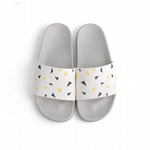 DIDIDD Baño Zapatillas de de Simple Pareja Verano de Slip 40 Moda Segundo Hombre Slippers Casa Sandalias de de rzY8qwrnC