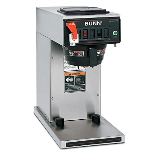 (BUNN 12950.0360 12 Cup CWTF15-TC Automatic Commercial Thermal Coffee Brewer, Black/Stainless (120V))