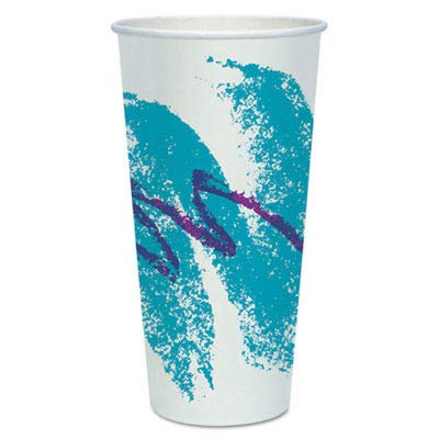 (Solo RP24P-00055 24/26 oz Jazz DSP Paper Cold Cup (Case of 1000))
