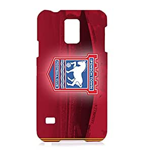 Ipswich Town FC Red Background Logo Charming Case Cover for Samsung Galaxy S5 I9600