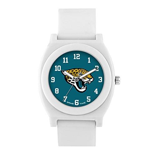 NFL Jacksonville Jaguars Mens Fan Series Wrist Watch, White, One Size ()