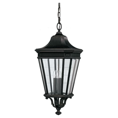 Outdoor Cotswold Pendant Lane (Feiss OL5412GBZ-LED Cotswold Lane LED Outdoor Pendant Lantern, 1-Light, Bronze (12