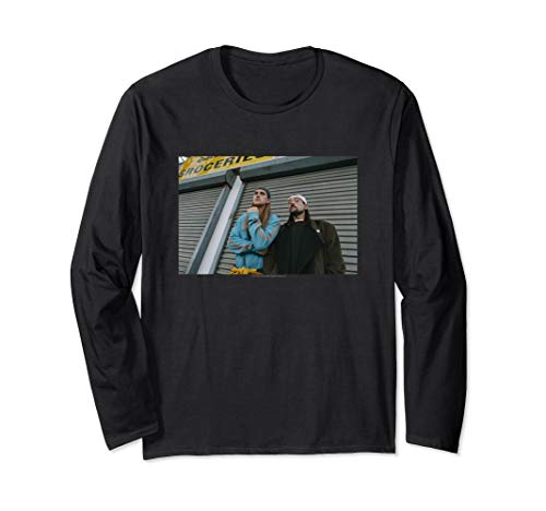 Jay and Silent Bob Photo Long Sleeve T-Shirt
