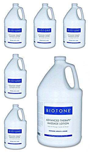 Biotone-Advanced-Therapy-Massage-Lotion-Gallon-pack-of-6