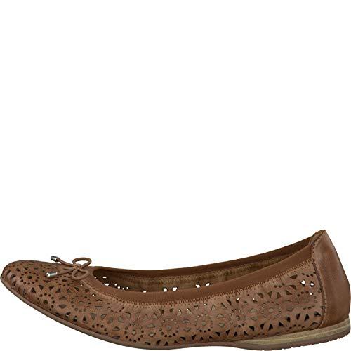 zapatos Tamaris zapatos Verano Planos 22185 Clásicas 22 Bailarinas Mujer 1 1 Del Nut TTwxU4qRa