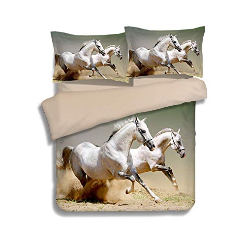 beautiful horse print bedding sets