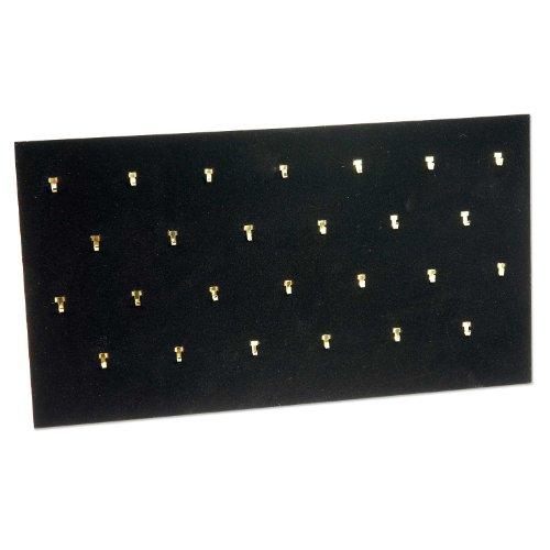 Pendant Pad (26 Hooks) Black Jewelry Display
