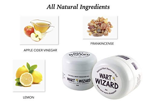 Wart Remover, wart removal, with WART WIZARD all natural wart