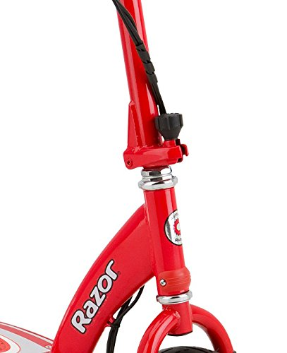 Razor E300 24V Rechargeable Electric Motorized Red Scooter + V17 Youth Helmet by Razor (Image #7)