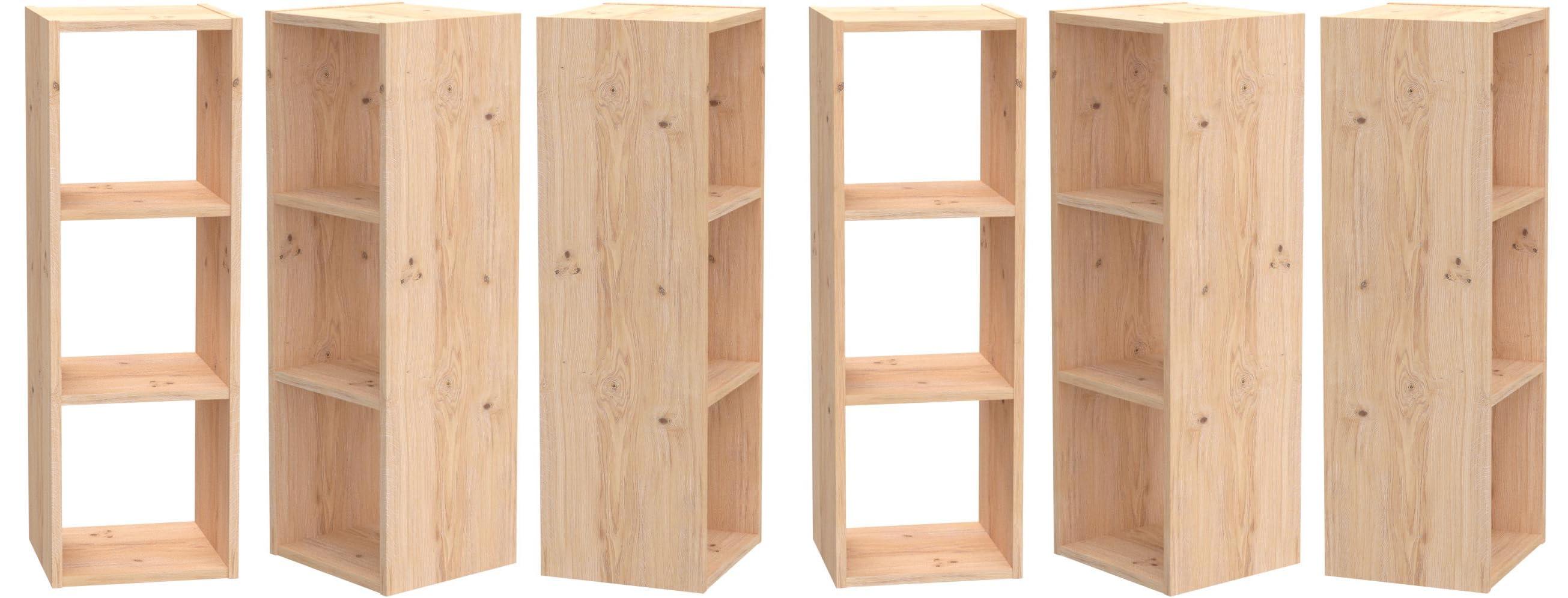 ASTIGARRAGA KIT LINE Estantería modular 3 cubos DINAMIC