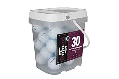 Reload Recycled Golf Balls Titleist Pro v1 Refurbished Golf Balls (30 Pack)