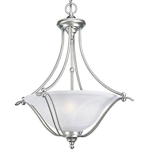 9 Light Chandelier Alabaster Glass - 1