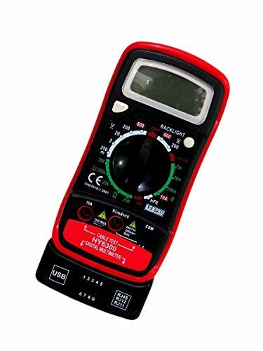 MULTIMETRO DIGITAL TESTE DE REDE E TELEFONIA PROFISSIONAL HY6300 DCV, ACV, DCA