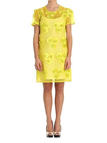 Parosh P.A.R.O.S.H. Women's D721441pytti016 Yellow Polyester Dress by Parosh